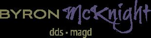 Byron McKnight DDS, MAGD logo