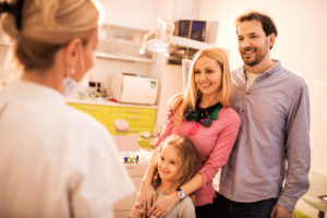 Your dentist in Mesquite keeps everyone's smile healthy.